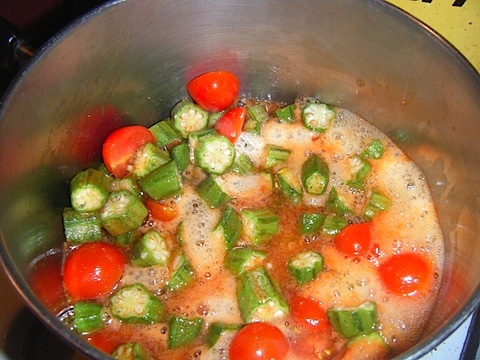 okra and tomatoes pre cooking.JPG